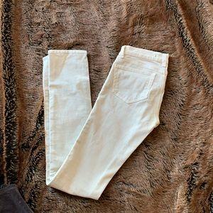 J Brand bone colored corduroy jean/pant